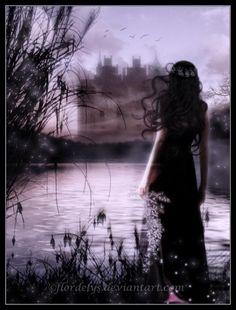 Gothic and fantasy Dark Fantasy, Fantasy World, Fantasy Art, Fantasy Witch, Marah Woolf, Gothic Background, Morgana Le Fay, Mystique, Gothic Art