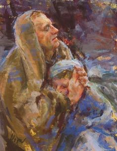 Paintings and Stories of #LDS Pioneers from the new book Follow Me to Zion