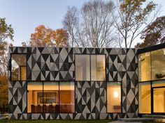 Geometric outdoor wallpaper DIECUT OUT SYSTEM ™ 13 Collection by Wall