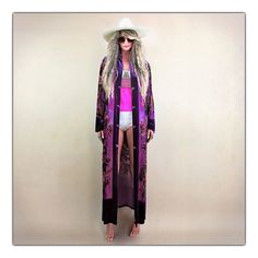 To-die-for bohemian babe duster