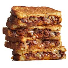BBQ Brisket Grilled Cheese - FamilyCircle.com
