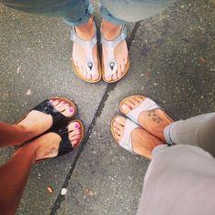 Streetstyle Check: Birkenstocks sind die Trendlatschen Nr. 1 #birkenstock #streetstyle #latschen