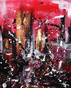 Acryl auf Leinwand Tension 40 cm x 50 cm mit von AtelierCRIVASTE