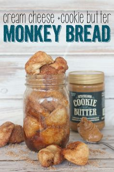 Young At Heart Mommy: Cream Cheese + Cookie Butter Monkey Bread