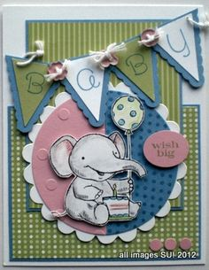 stampin up card ideas for babies