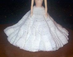 FLARED SLIP FOR FASHION DOLL PATTERN is a crochet bed doll SLIP pattern by Ricochet 1950. I originally found at Sadly, this site is no longer available. I hope she doesn't mind me sharing her be...