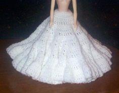 FLARED SLIP free crochet pattern for 15 inch fashion doll