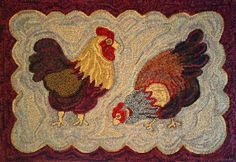 Rug Hooking Supplies | Locker Hooking Rug Hooking