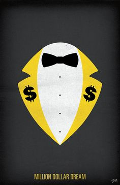WWF Legends Minimalist Poster 'Million Dollar Man by BAMitsBernie