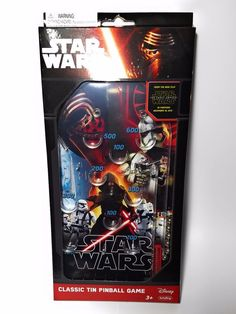 Official Star Wars Force Awakens Retro Classic Pinball Game #Schylling