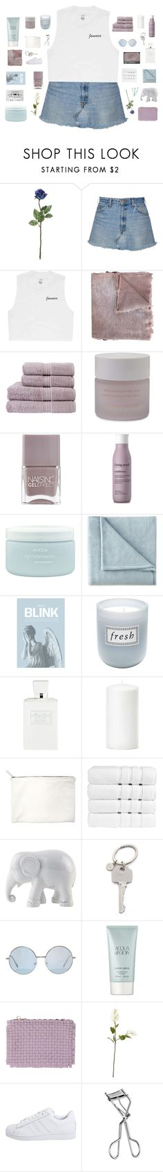 """""""my duty is to my heart - BotHSC"""" by lost-on-the-horizon ❤ liked on Polyvore featuring Billabong, Avant Toi, Christy, Omorovicza, Nails Inc., NARS Cosmetics, Living Proof, Aveda, JCPenney Home and Blink"""