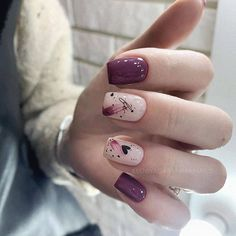 What do you call this nail design? From IG: @kseniyagaranina.nails