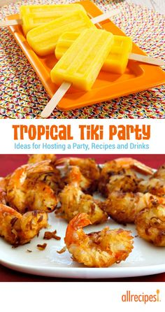 Fire up the grill, spark the torches, and let's get freaky with tiki.