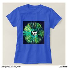 Shop Eye Spy T-Shirt created by Rhune_Arts. Spy, Shirt Style, Your Style, Abstract Art, Shirt Designs, Mens Tops, T Shirt, Color, Fashion