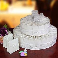 pastel de cajitas para boda.