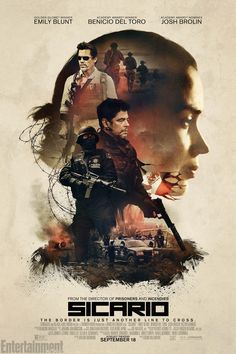 Directed by Denis Villeneuve. With Emily Blunt, Josh Brolin, Benicio Del Toro, Jon Bernthal. Edge of the seat stuff, Benicio Del Toro is so menacing in this - and he's one of the good guys! 2015 Movies, New Movies, Movies To Watch, Good Movies, Movies Online, Movies And Tv Shows, Latest Movies, Netflix Online, Movies Free