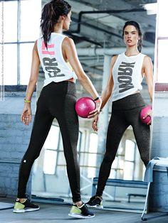 Alessandra Ambrosio for Victoria's Secret lookbook (Fall 2014) photo shoot