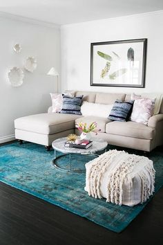 Savvy furniture choices, classic shelving, and clever arrangements can help a small living room live large.  #SmallLivingRoomIdeas #SmallLivingRoomIdeasfurniture #SmallLivingRoom #LivingRoom