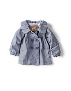 @Erika Hall - This tiny little coat just made me realize that once Harper arrives I am going to completely lose it over the cute baby girl clothes.