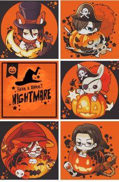 Kuroshitsuji Halloween Edition :3