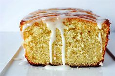 Paleo lemon bread with lemon glaze: cup coconut oil or butter, meltedzest from 2 lemonsjuice from 2 lemons plus enough milk of choice (coconut, almond) to equal 1 cup cup coconut flour (do not substitute another heaping teaspoon baking tsp salt Gluten Free Sweets, Paleo Dessert, Healthy Sweets, Dessert Recipes, Coconut Flour Recipes, Paleo Recipes, Whole Food Recipes, Coconut Oil, Lemon Coconut