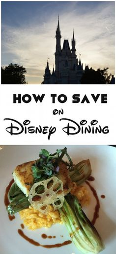 How to save on Disney dining #DisneySMMC