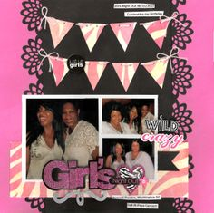 Girls Night Out  ***Teresa Collins/MAMBI*** - Scrapbook.com