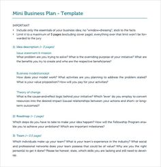 Design And Samples For Business Plan