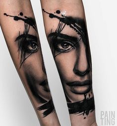 Szymon Gdowicz Pain Ting Source by manuelazeindl Tattoos 3d, Bild Tattoos, Feather Tattoos, Great Tattoos, Trendy Tattoos, Body Art Tattoos, Small Tattoos, Tattoos For Guys, Underarm Tattoo