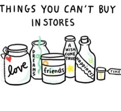 You cant buy...
