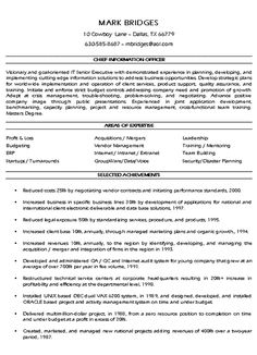cio technology executive resume example. Resume Example. Resume CV Cover Letter