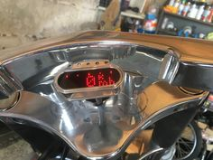 MotoGadget Motoscop Mini Harley Davidson Big tire Old School, Harley Davidson, Big