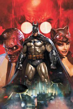 BATMAN: ARKHAM UNHINGED HC by Comic Artist Dave Wilkins #Illustration #Drawing #Comics