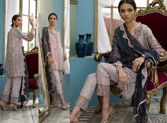 Komal Exclusive Embroidered Collection 2017 KE-6066-B | Clothing9 Store