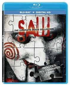 Saw: The Complete Movie Collection (Blu-ray  Digital HD) $9.75 @ Amazon #LavaHot http://www.lavahotdeals.com/us/cheap/complete-movie-collection-blu-ray-digital-hd-9/125748