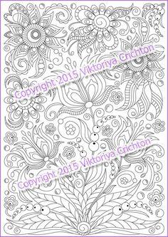 Steampunk Teapot Coloring Page Instant Download By SquidoodleArt