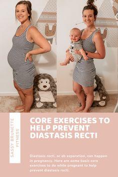 Baby Workout, Prenatal Workout, Pregnancy Workout, Postpartum Body, Postpartum Recovery, Exercise While Pregnant, Newly Pregnant, Healthy Pregnancy Tips, Diastasis Recti