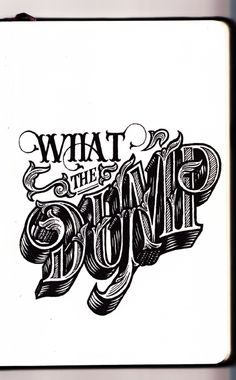 Lettering Sayings by Cory Say, via Behance