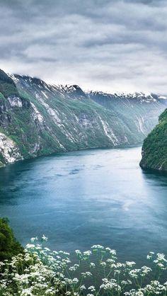 geirangerfjorden, norway.