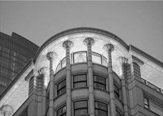 Carson Pirie Scott building, Black and white – the Buildings, Chicago, IL, Photographs are available for purchase - call or email to inquire about pricing.