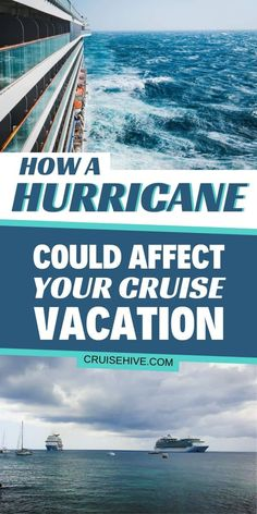 It is Hurricane season so find out how the storm can affect your cruise vacation. Covering cancellations, itinerary changes and weather tips. #cruise #cruises #cruisetips #hurricane #weather #cruisetravel #storm