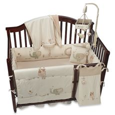 Nature's Purest™ Sleepy Safari Crib Bedding & Accessories- Bed Bath & beyomd