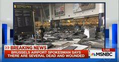 O Estado Islâmico reivindicou a responsabilidade pelos ataques de Bruxelas nesta terça-feira, diz uma agência de notícias ligada ao grupo, segundo a Reuters.