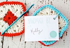 one sheepish girl: Granny Square Coasters