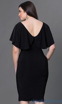 Shop plus-sized formal dresses and semi-formal plus party dresses at Simply Dresses. Plus cocktail dresses, plus-sized dresses for parties, plus-size casual dresses, and evening gowns in plus sizes. Casual Cocktail Dress, Plus Size Cocktail Dresses, Plus Size Formal Dresses, Elegant Dresses, Plus Size Outfits, Casual Dresses, Dress Formal, Formal Prom, Trendy Dresses