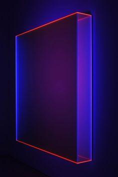 Regine Schumann Fluorescent Acrylic Glass Art - What d'you call it