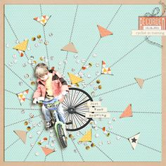 Ideas for using the graphic burst on scrapbook pages | LO by Amy Kingsford | GetItScrapped.com/blog
