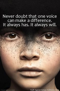 Make a Difference! #onevoice