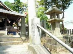 Sakata hachiman shinto shrine in Japan.  This shrine is in the forest.I can hear a song of a bird.  It is decorated with lanterns.   http://japan-temple-shrine.blogspot.jp/2012/11/sakata-hachiman-shinto-shrine.html