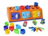 Caixa - Encaixa 18 peças - Estrela